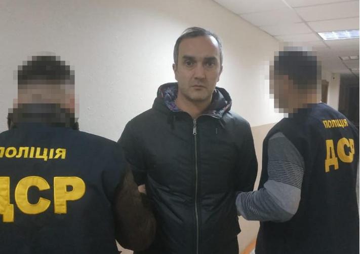 """""""Каха Тбіліський""""намагався незаконновиїхати з країни/ npu.gov.ua"""