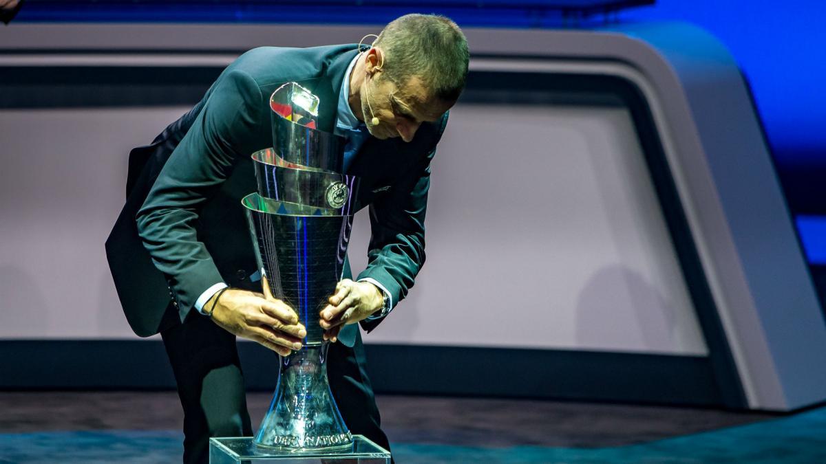 Трофей Лиги наций / фото: uefa.com