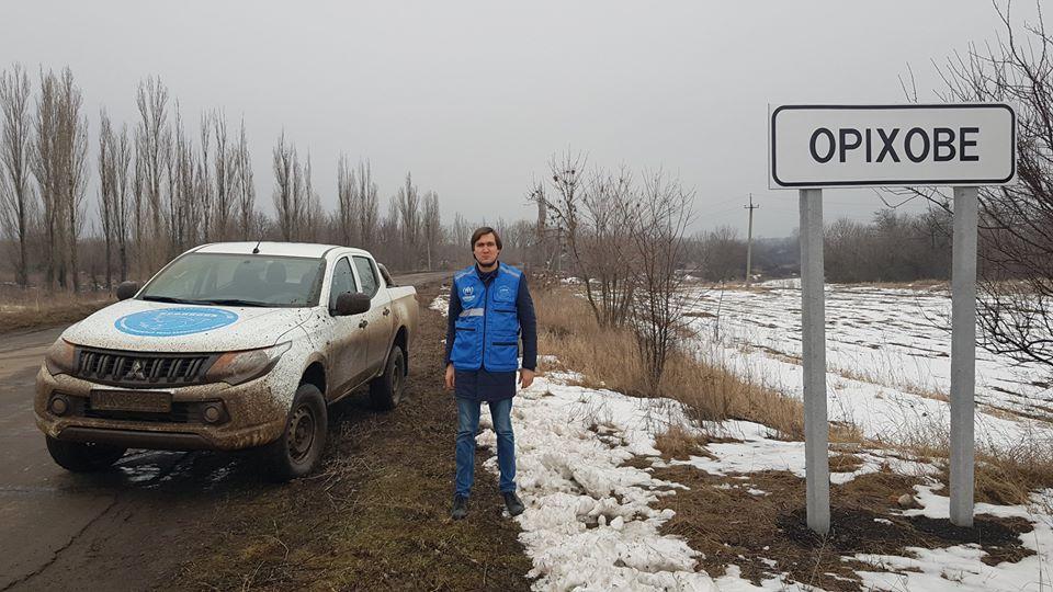 Евгений Каплин рассказал о жизнив прифронтовой полосе/ фото: facebook/evgeny.kaplin
