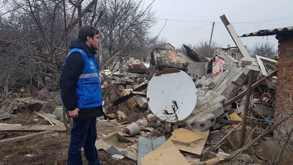 В селах «серой зоны», отмечает Каплин, ситуация сложная / фото: facebook/evgeny.kaplin