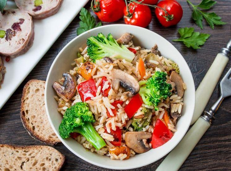 Рецепты риса с овощами / фото: pinterest.co.uk