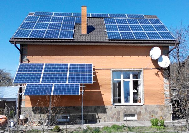 Около 22 тыс. домохозяйств в Украине используют «чистую» электроэнергию / фото building-tech.org