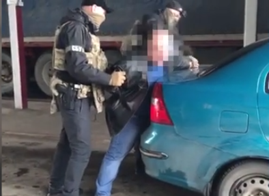 The man was detained on the border with Russia / Screenshot