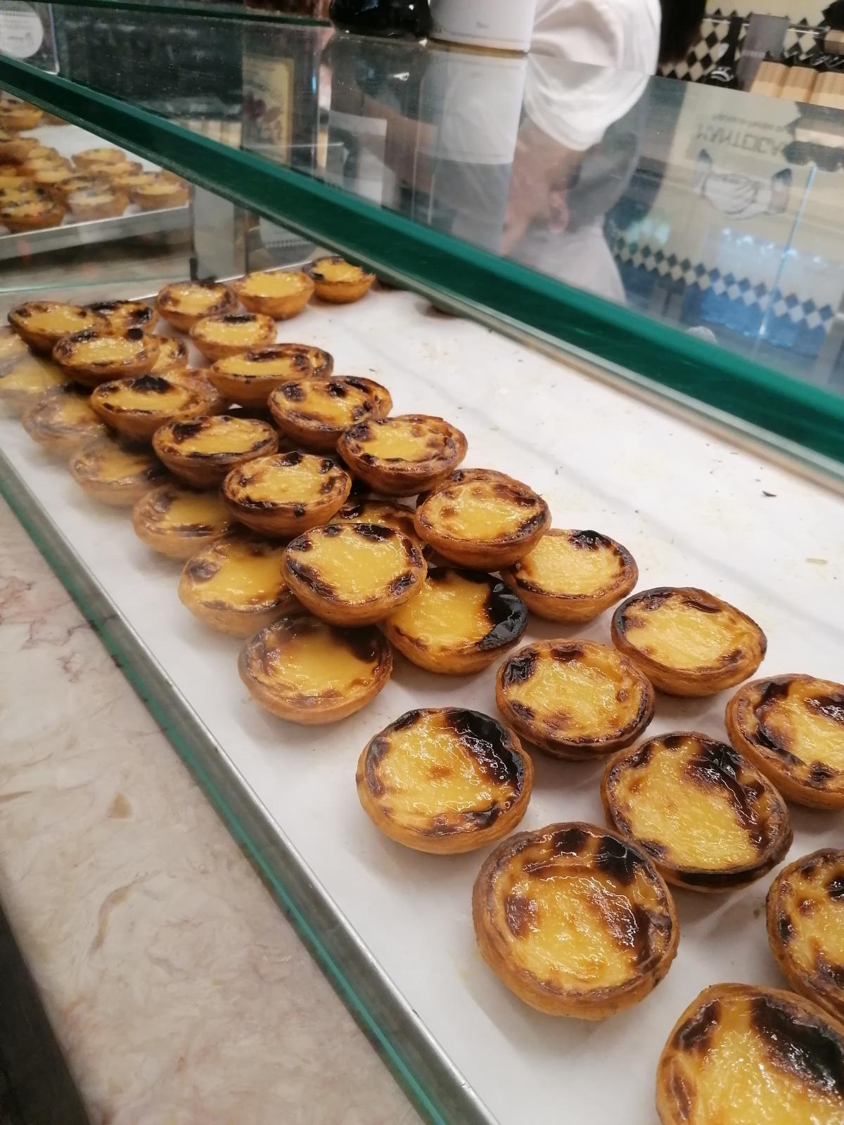 Классический португальский десерт / Фото автора