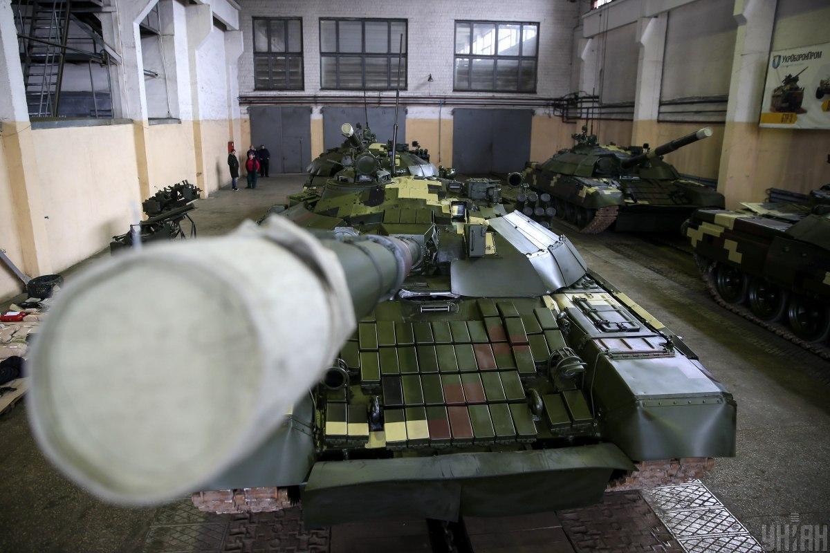 Модернизированный танк Т-72 / Фото: УНИАН