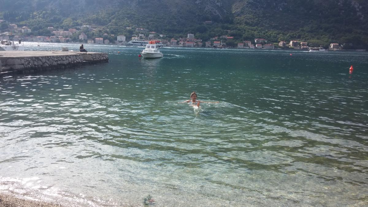 Из такой воды не хочется выходить / фото: Ольга Броскова