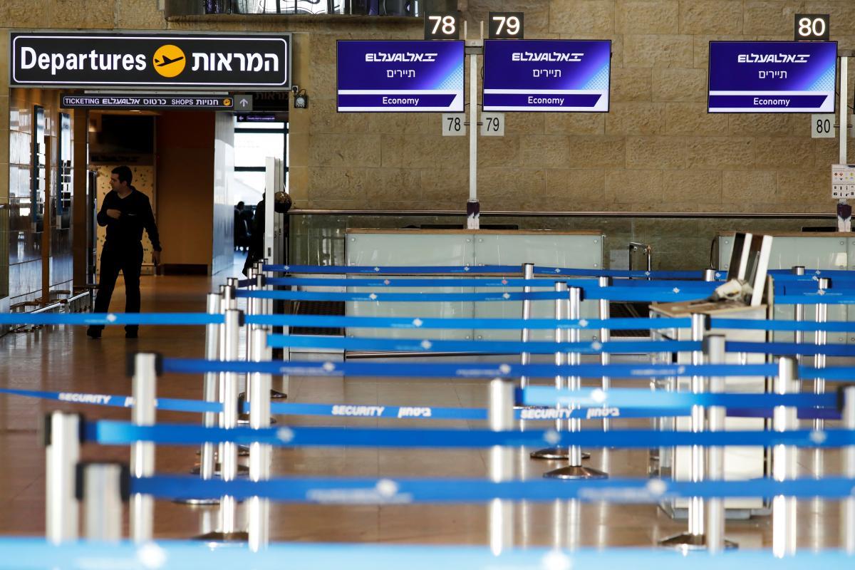 Міжнародний аеропорт Ізраїлю імені Бен-Гуріона закриють з 26 до 31 січня / REUTERS