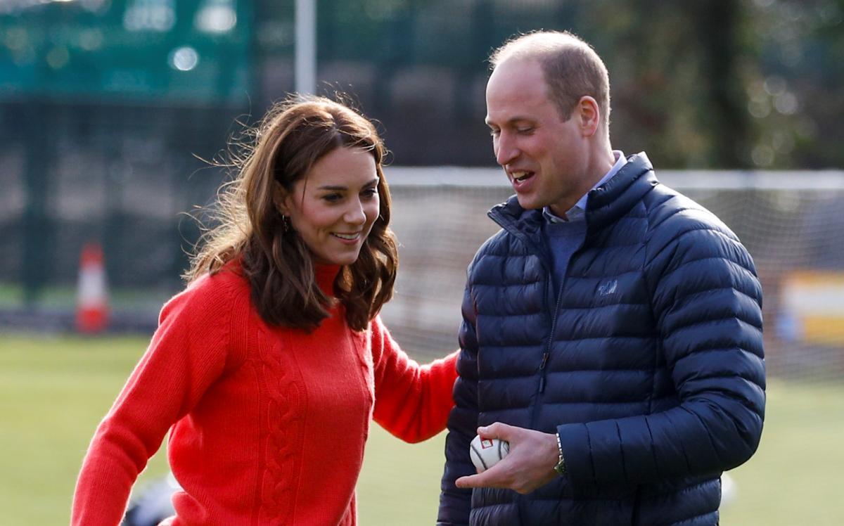Принц Вільям та Кейт / фото REUTERS