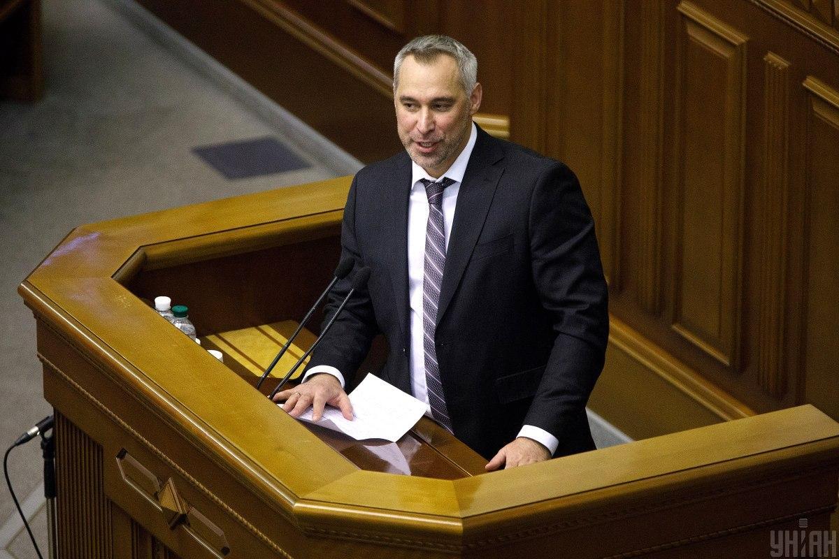 Рябошапка висловився про конфлікт силовиків / УНІАН