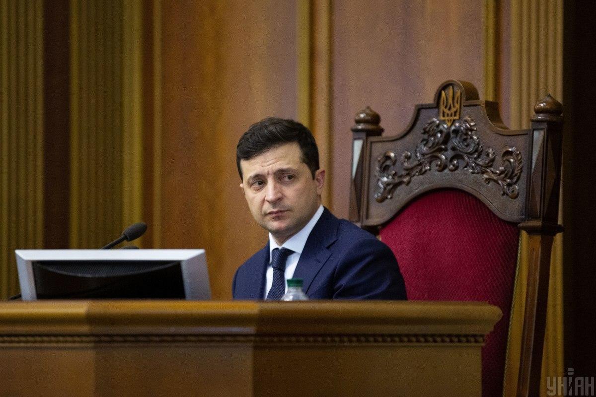 Зеленський прокоментував кадрові питання / фото УНІАН
