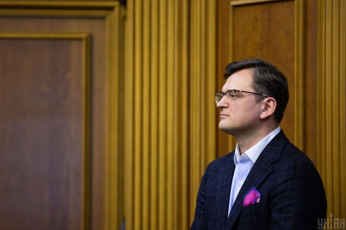 Кулеба заявляє про необхідність розширювати санкції ЄС проти Росії / фото УНІАН