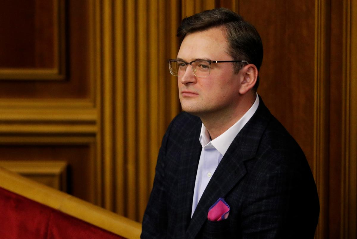 Міністр закордонних справ Дмитро Кулеба / REUTERS