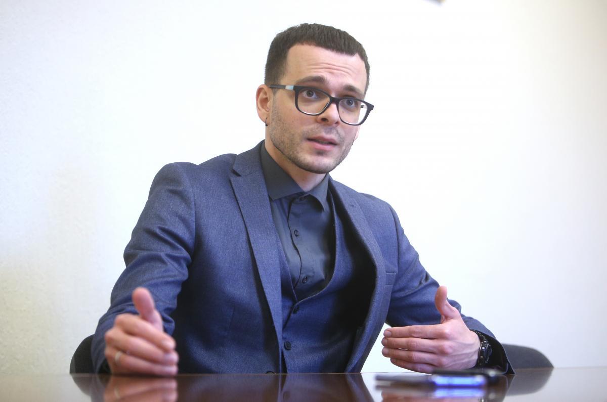 Заступник міністра освіти та науки України Єгор Стадний / фото УНІАН