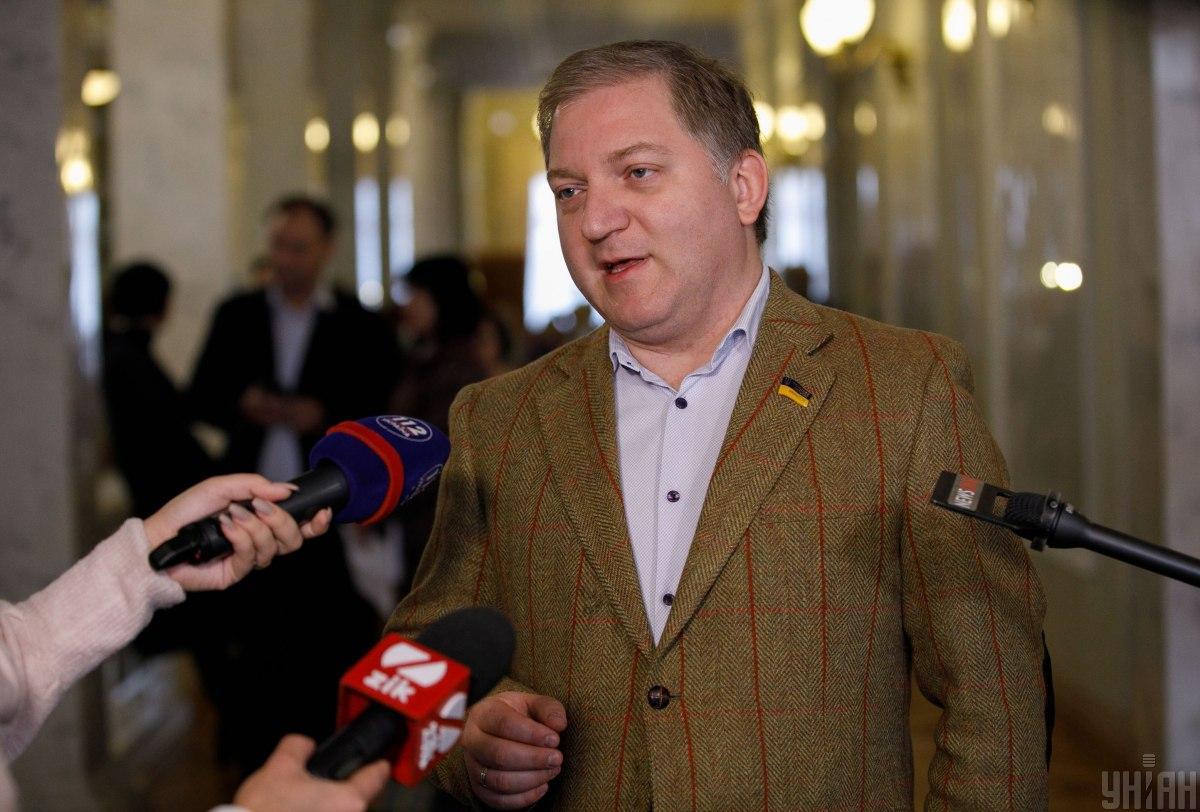 Волошин утверждает, что не зараженкоронавирусом / фото УНИАН