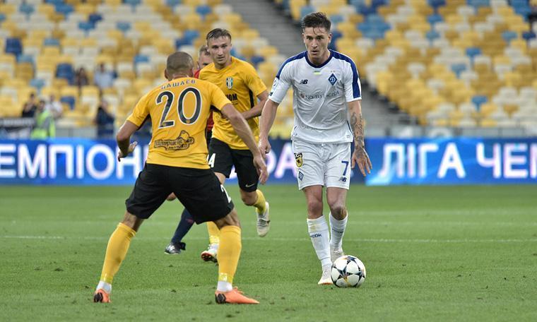 Динамо и Александрия сыграют в центральном матче тура / фото: ФК Динамо