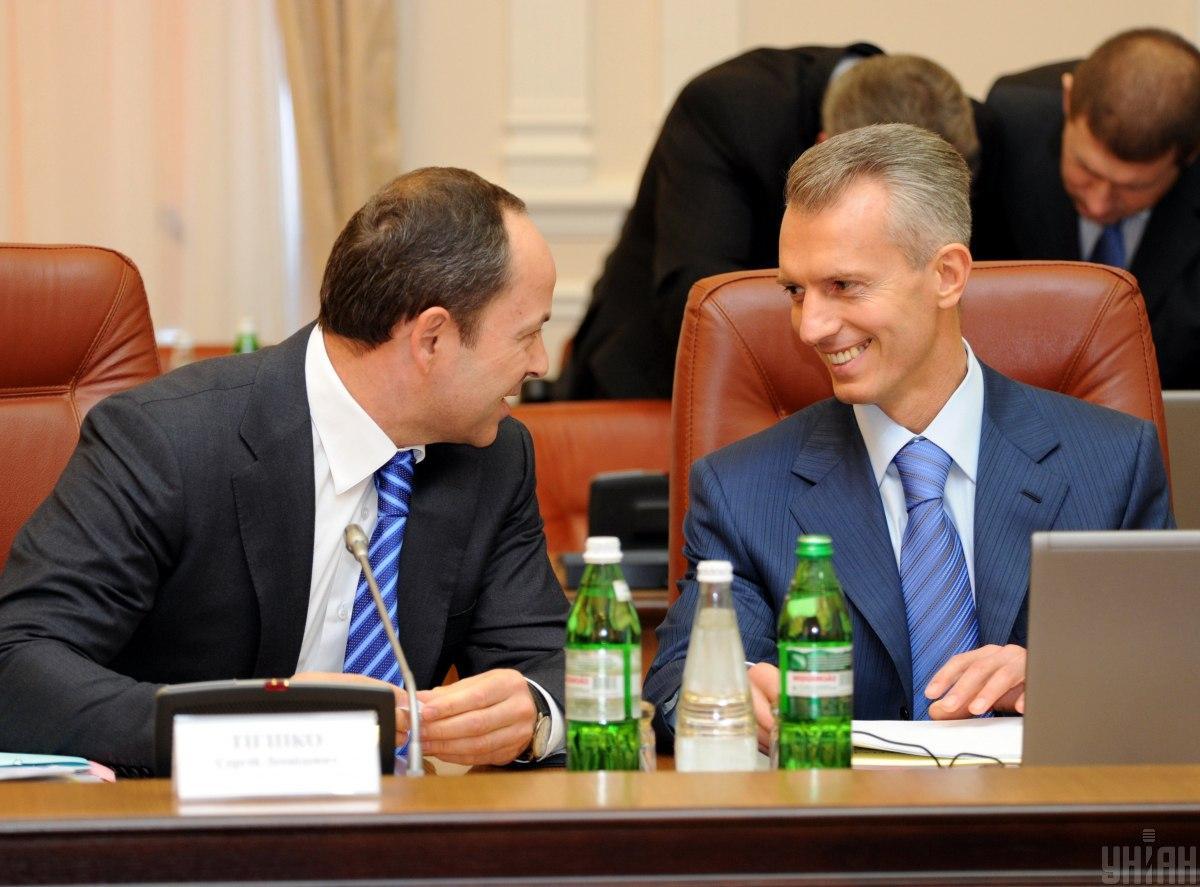 Тигипко и Хорошковский рассматривались как кандидаты на должность премьер-министра / фото УНИАН