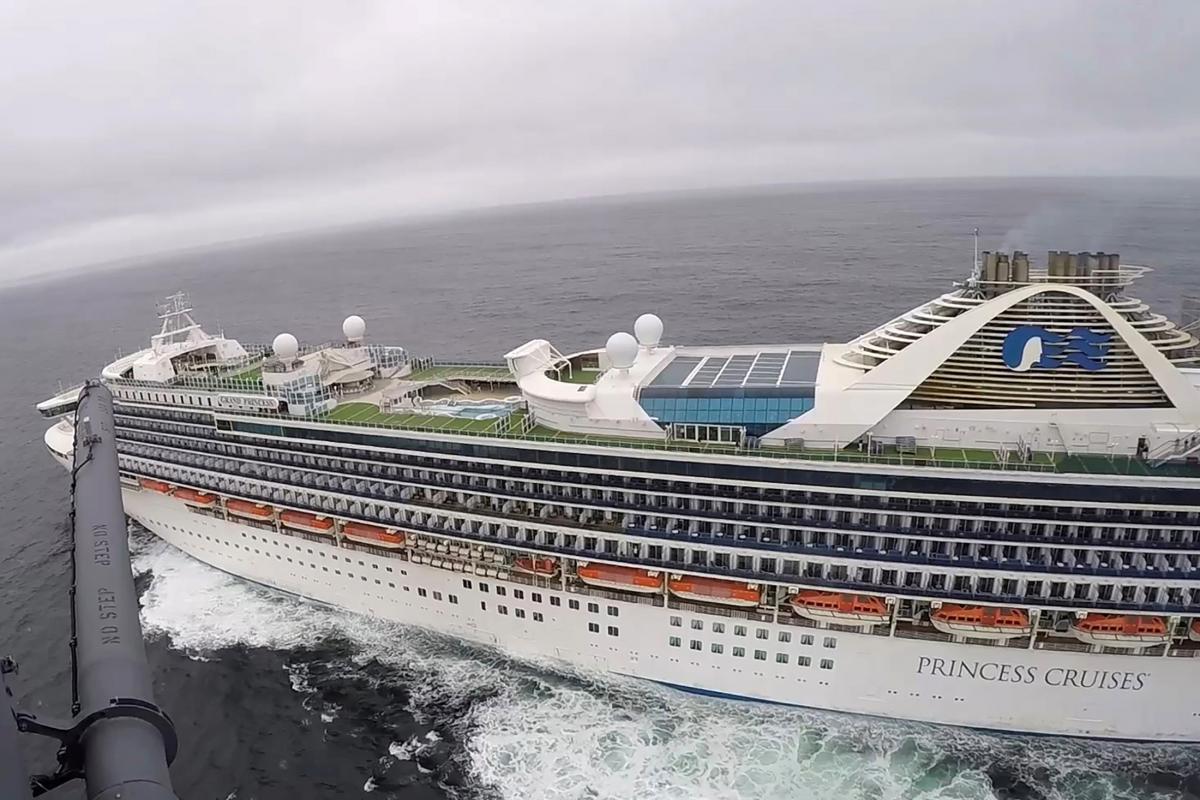 Круизный лайнер Grand Princess / REUTERS