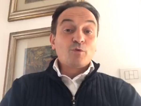 Альберто Чирио записал видеообращение / скриншот
