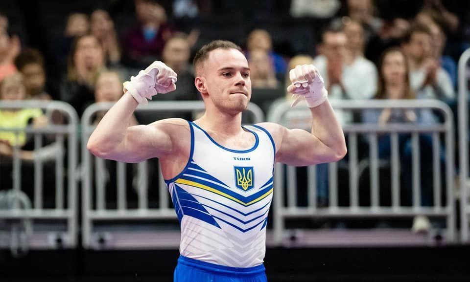 Олег Верняев стал вторым в многоборье / фото: Usagimmastics