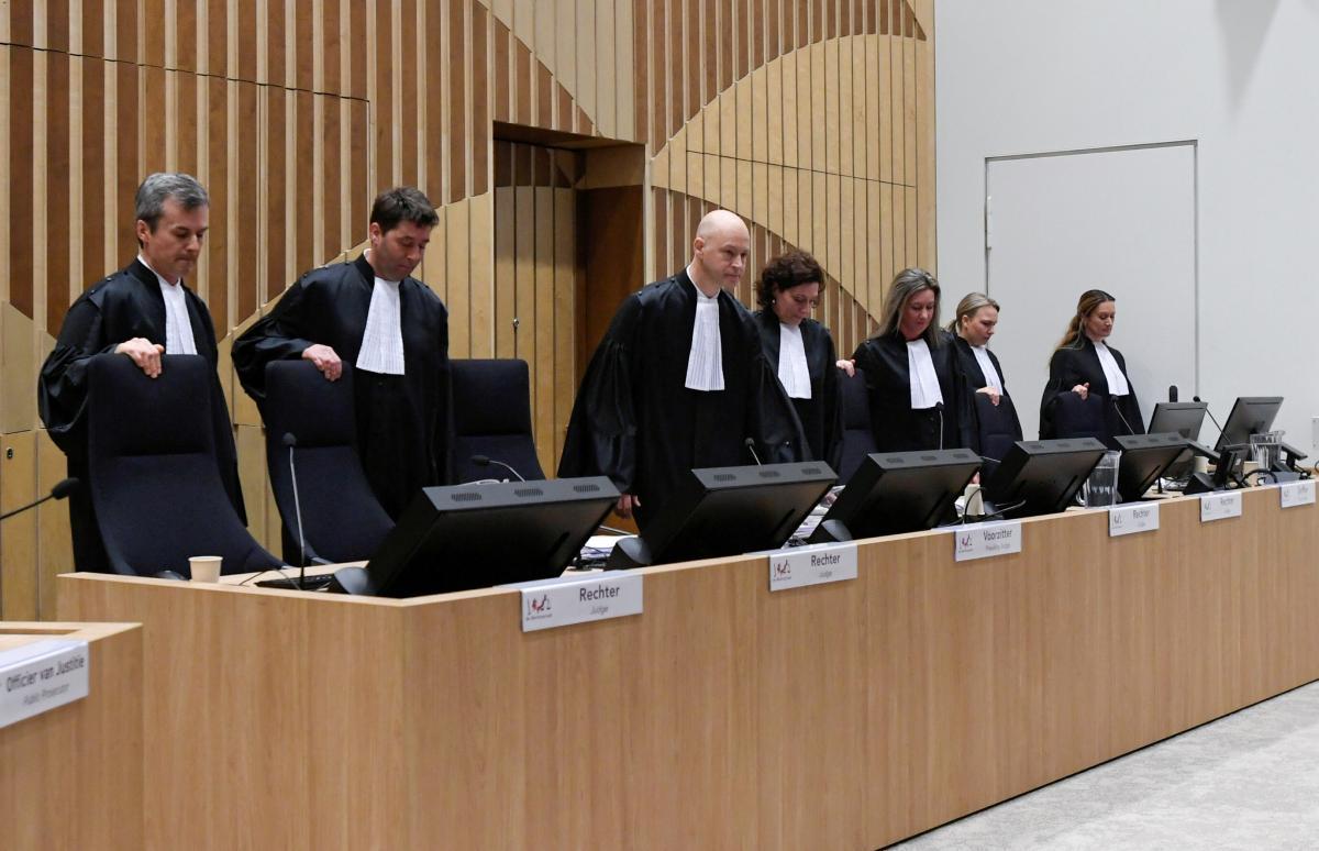 В Гааге продолжается судебный процесс в отношении четырех обвиняемых по делу МН17 / фото REUTERS