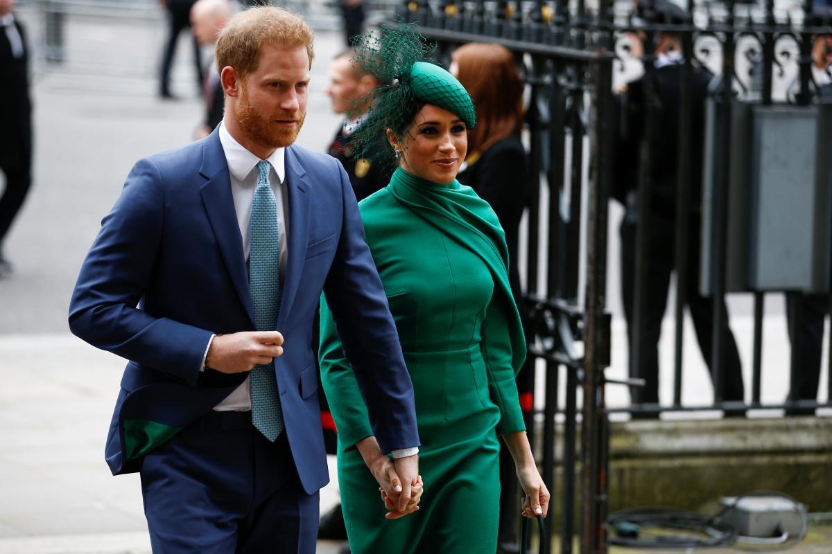 Принц Гаррі та Меган Маркл / фото REUTERS
