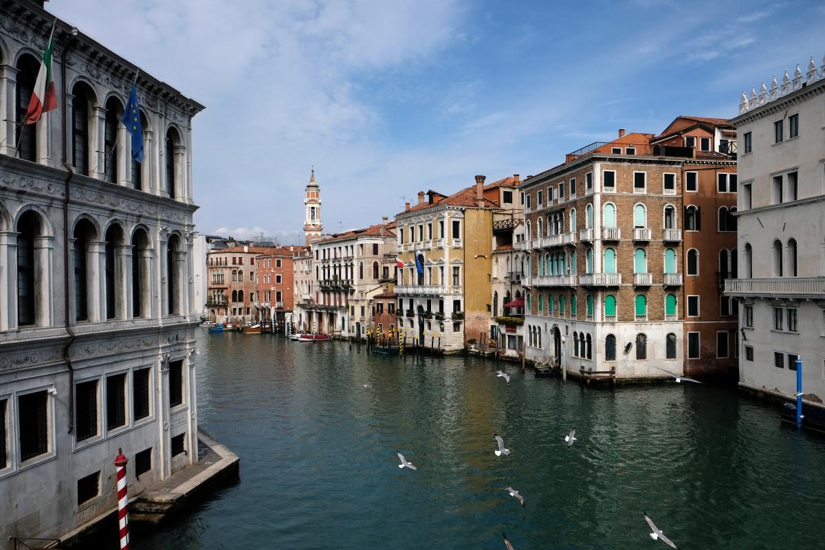 Авиасообщение с Италией пока закрыто из-за коронавируса / Фото REUTERS