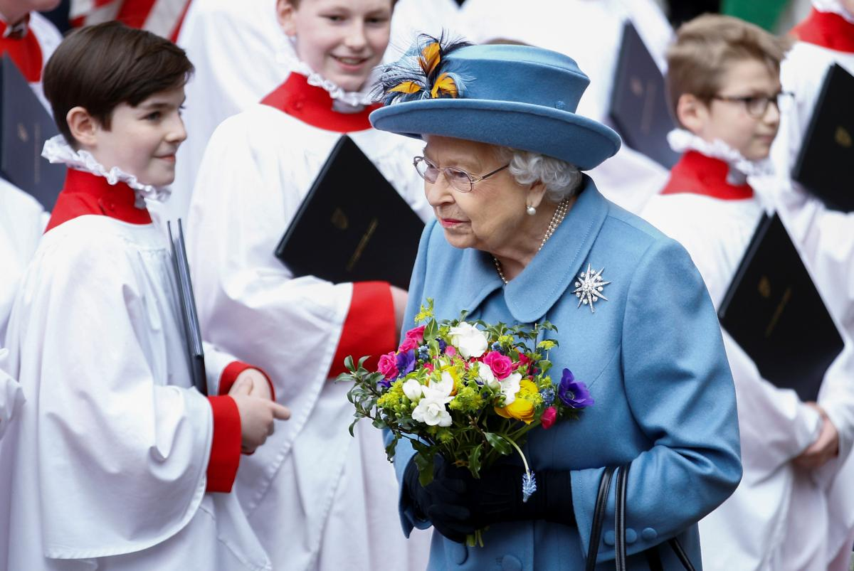 The British monarch turns 94 Tuesday / REUTERS