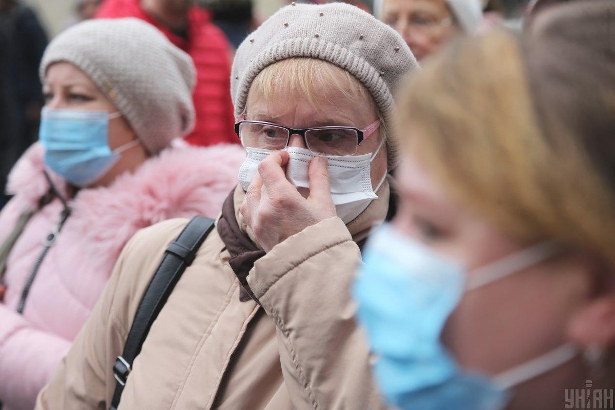Украина столкнулась с эпидемией коронавируса / фото УНИАН