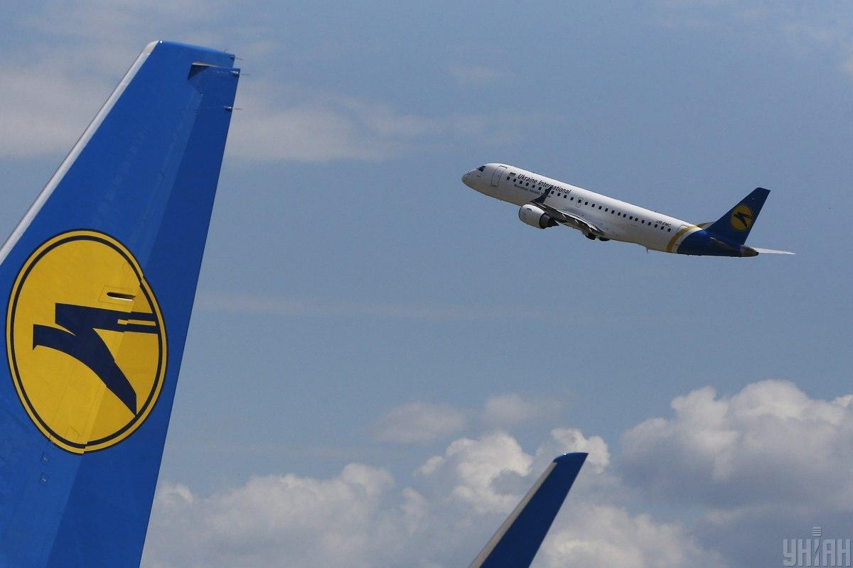 Пассажирская емкость воздушного судна – 286 кресел/ фото УНІАН