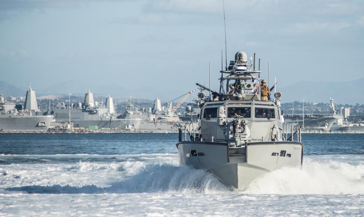 Шесть катеров уже готовятся для Украины в рамках помощи США в сфере безопасности по соответствующим программам / Flickr/Official U. S. Navy Page