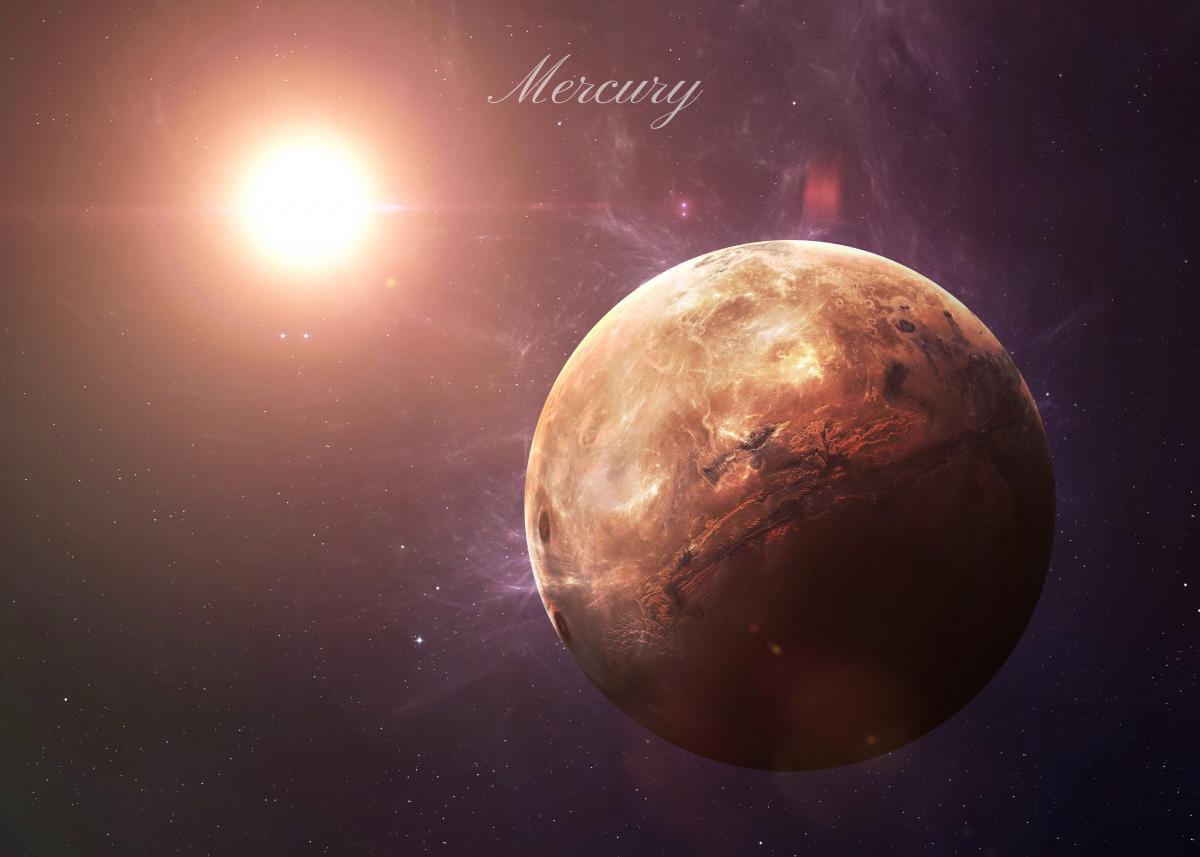 Меркурий – ближайшая к Солнцу планета / фото depositphotos.com