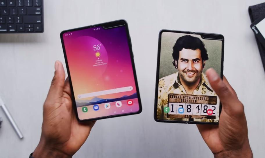 Техноблогеры оценили гибкий смартфон от брата Эскобара/ Скриншот