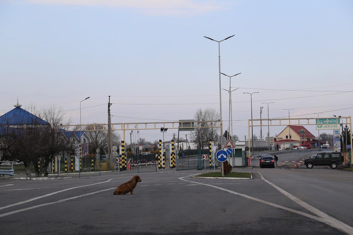 Украина с 28 марта закрывает границу / фото: Наталья Петервари