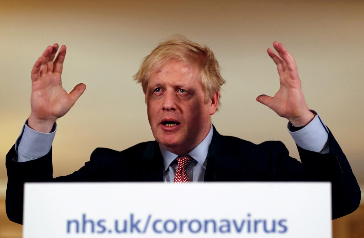 Борис Джонсон самоизолировался из-за COVID-19 / Фото REUTERS