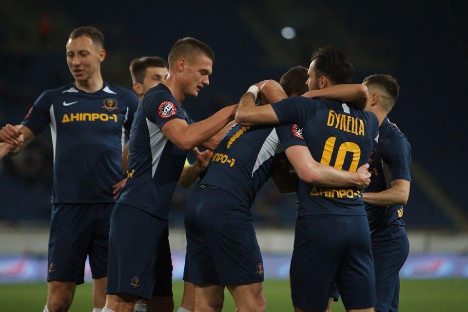 Днепр-1 во второй раз за неделю обыграл Мариуполь / фото: СК Днепр-1