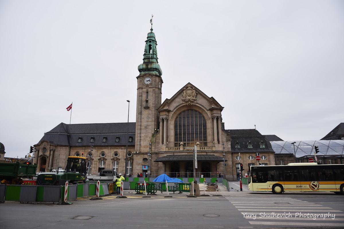 Залізничний вокзал Люксембурга / фото Yury Shulhevich