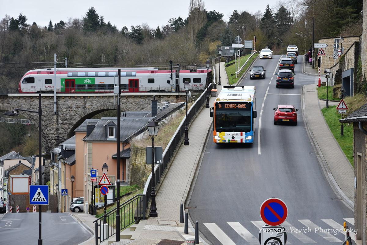 Транспорт Люксембурга /фото Yury Shulhevich