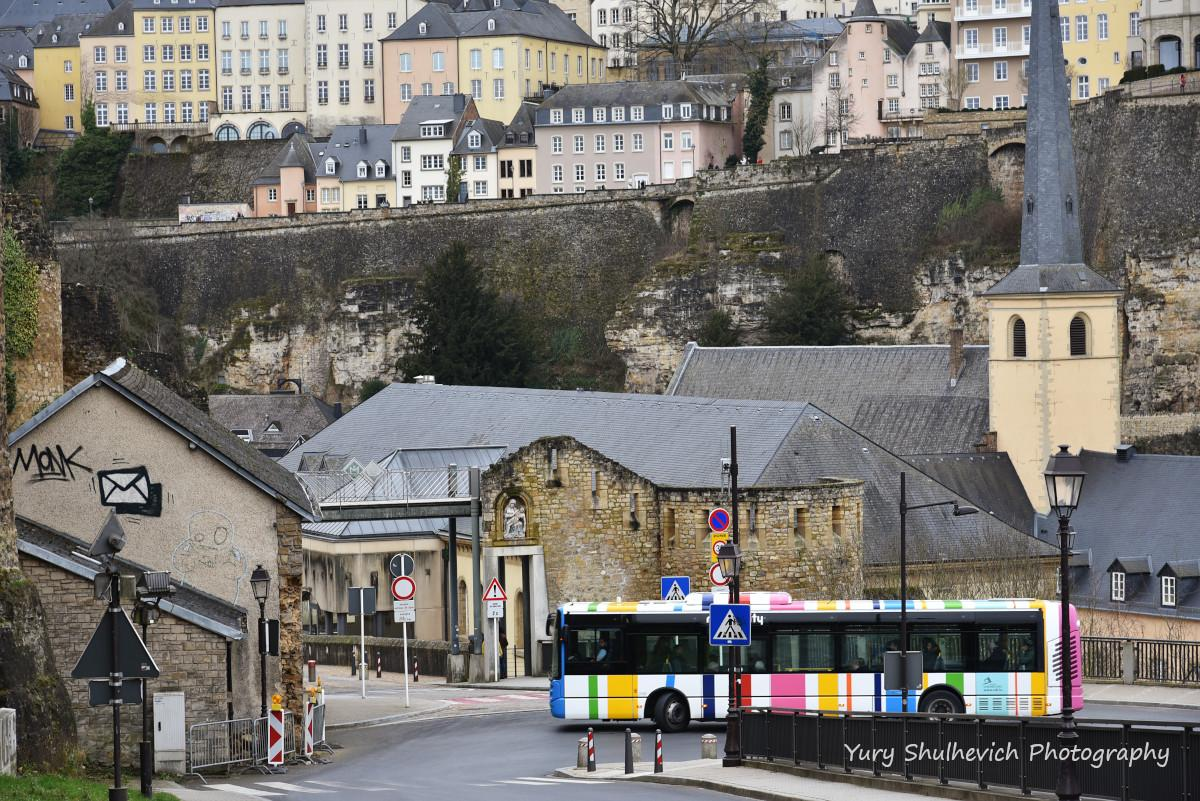 Люксембург - багатоповерхове місто / фото Yury Shulhevich