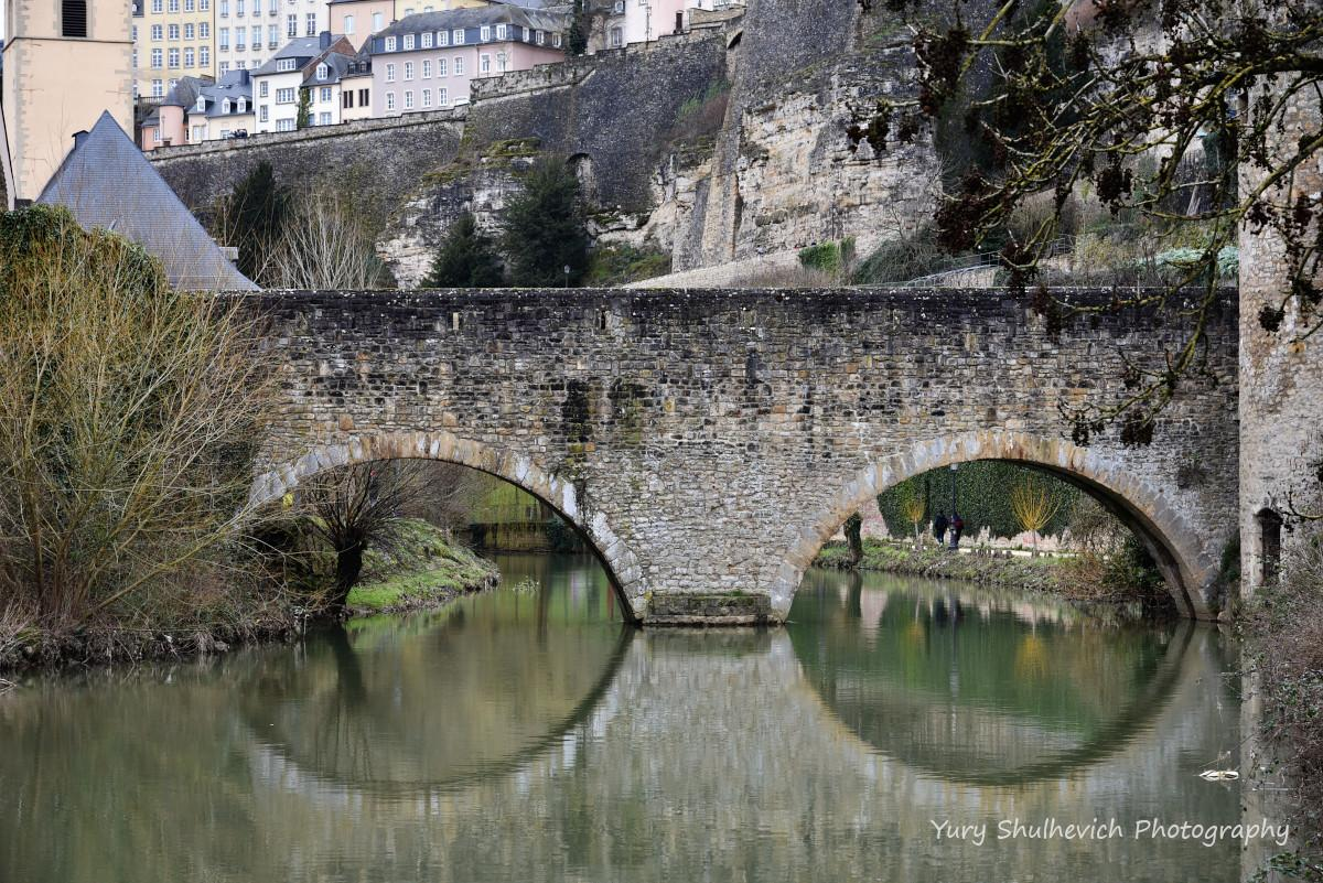Міст через річку Альзет / фото Yury Shulhevich