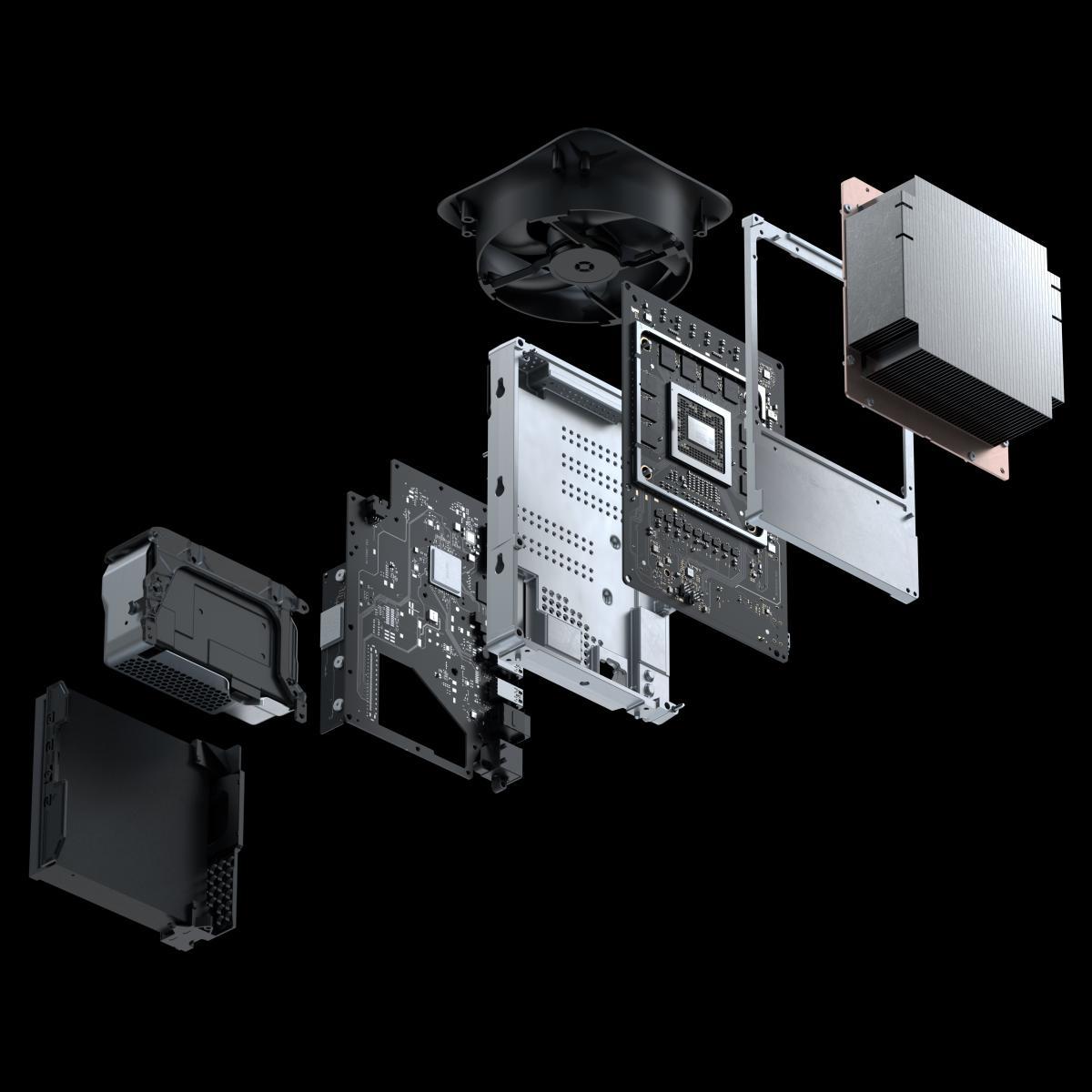 Все компоненты Xbox Series X / news.xbox.com