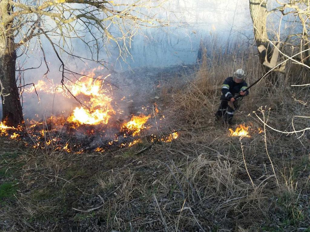За 15 березня пожежники ліквідували 18 пожеж \ прес-служба ДСНС в Дніпропетровській області