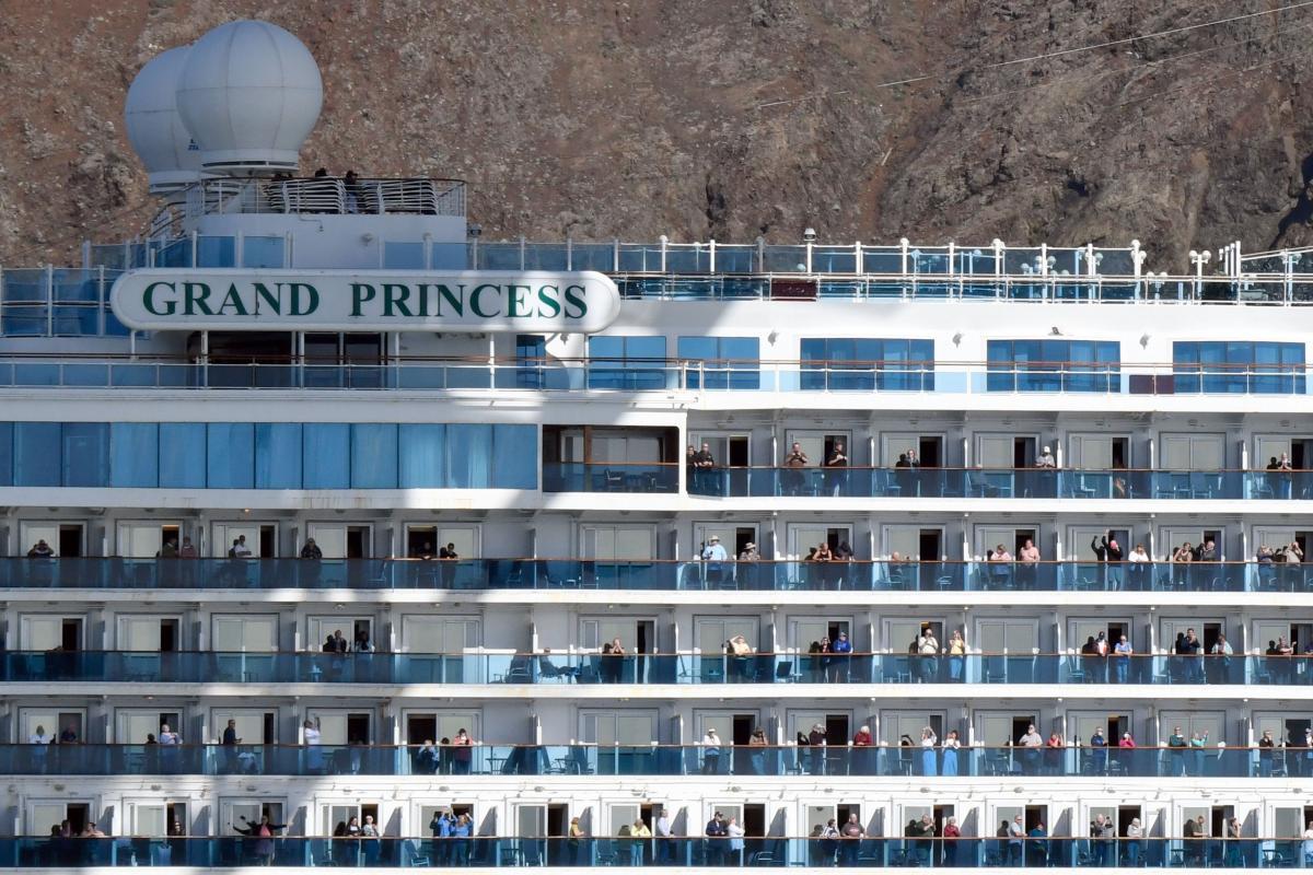 Лайнер Grand Princess / Фото: REUTERS