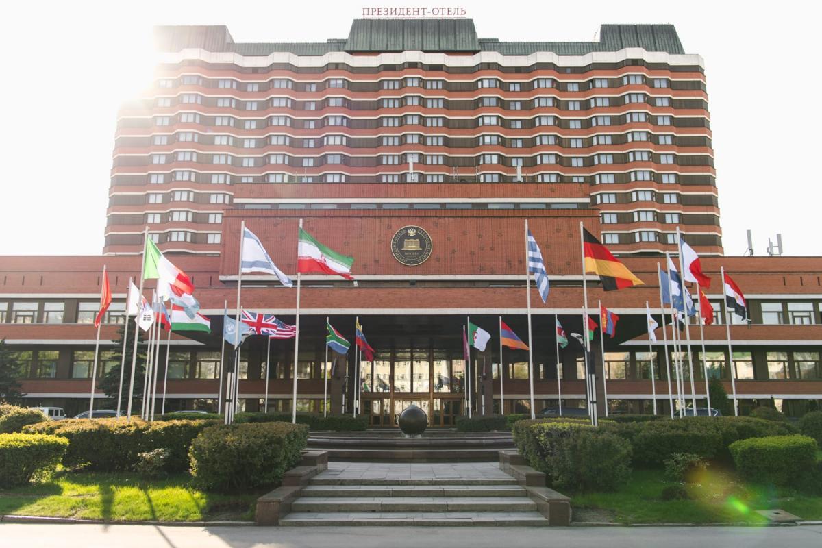 Президент готель у Москві