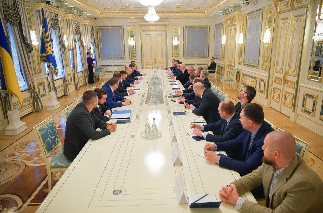 Владимир Зеленский провел встречу с представителями крупного бизнеса / фото ОП