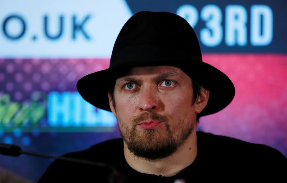 Александр Усик назвал Фьюри непредсказуемым в ринге/ REUTERS