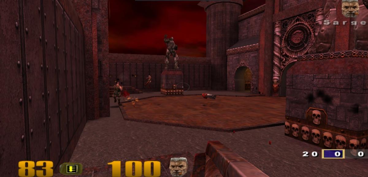 Кадр з Quake 3 / скріншот