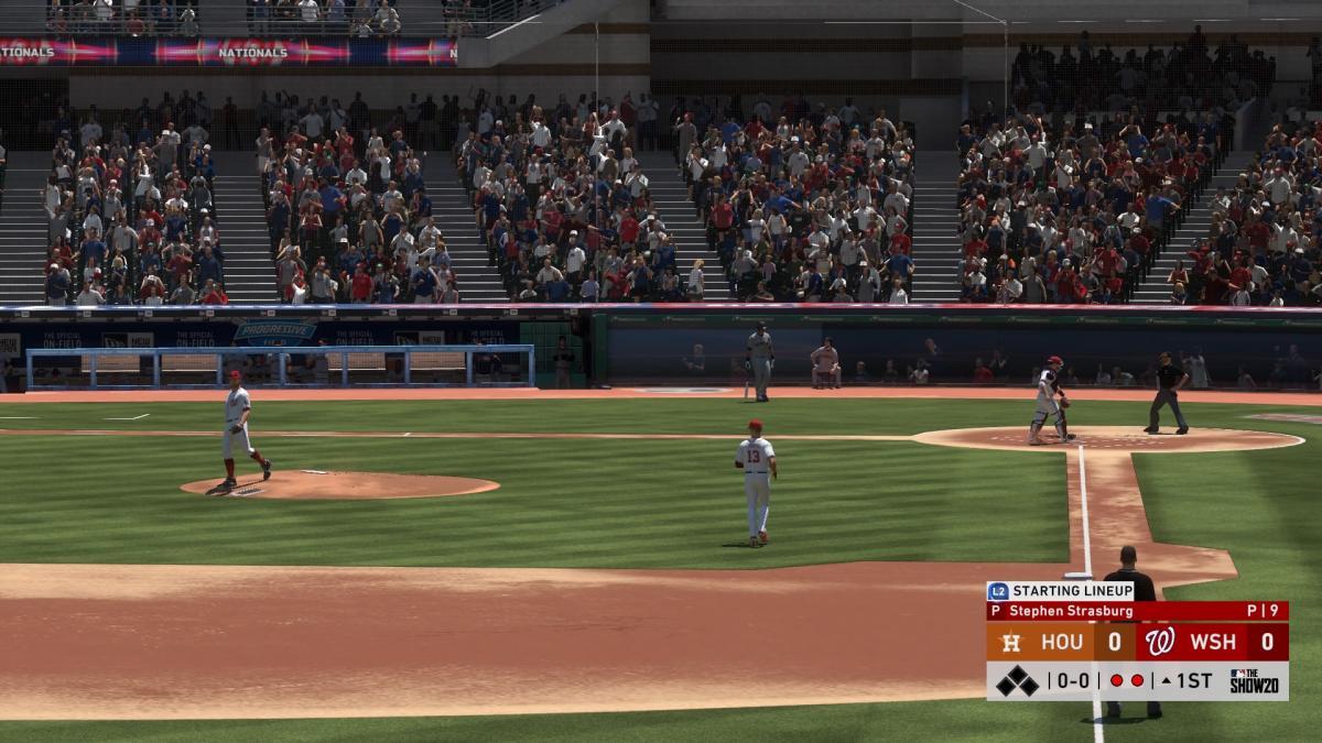 Кадр из игры MLB The Show 20 / скриншот