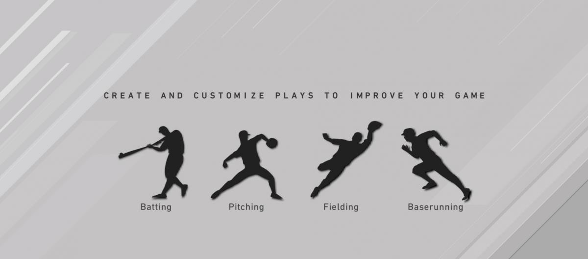 В основном играть нужно за питчера и бьющего / скриншот