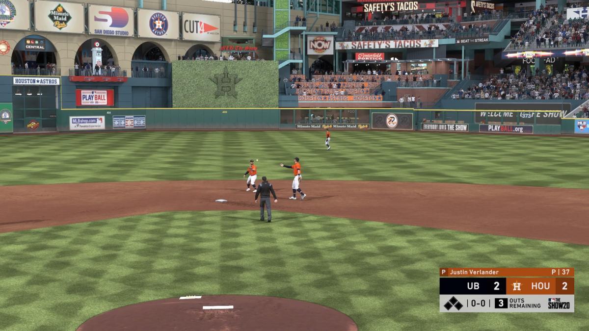 Кадр из MLB The Show 20 / скриншот
