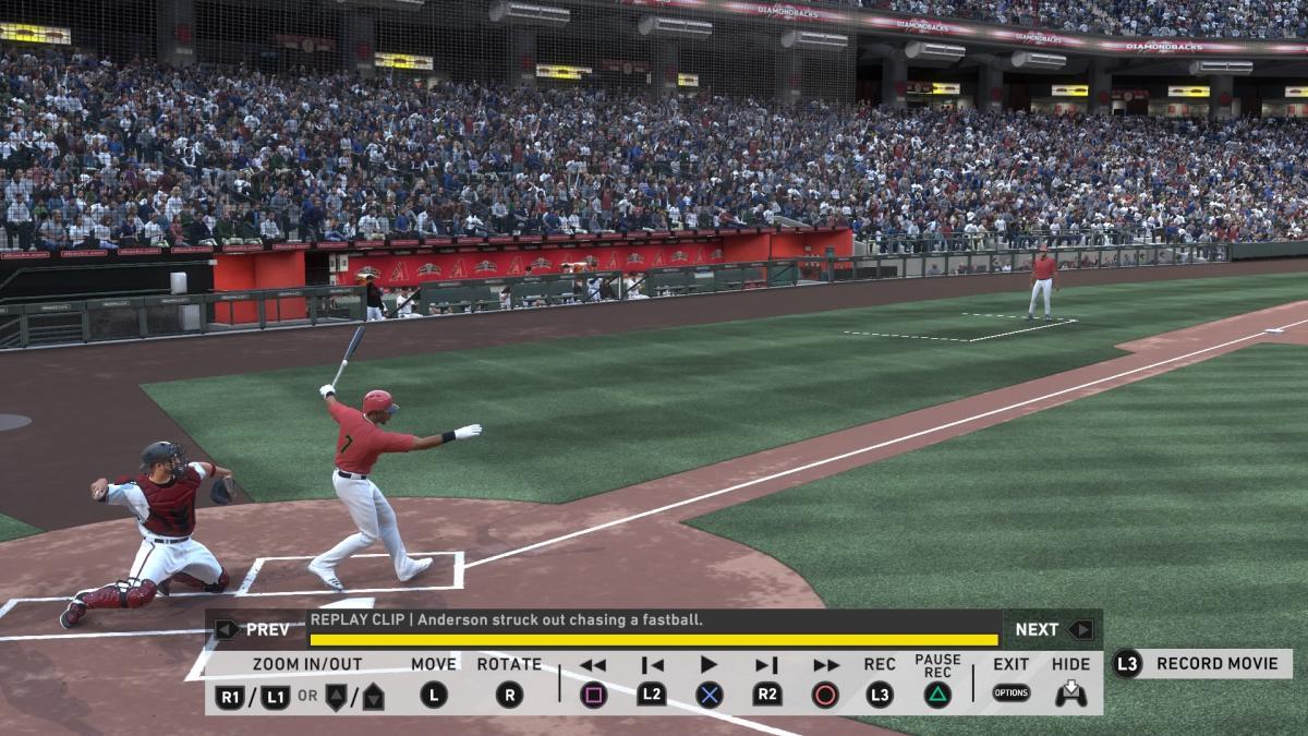 После матча можно включить повтор / скриншот